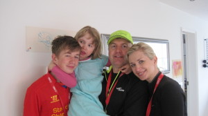 The family after a great day.  Thank you so much